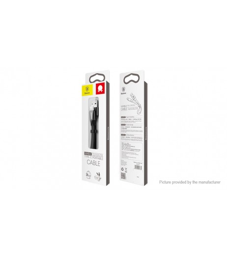 Authentic Baseus USB-C to USB 2.0 Data & Charging Cable (23cm)