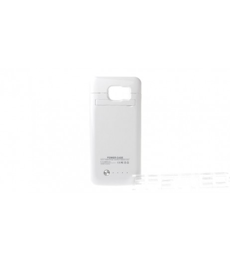 """""""4200mAh"""" Rechargeable External Battery Case for Samsung Galaxy S6"""